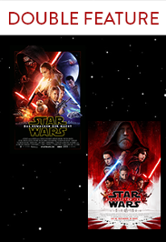 Star Wars Double Feature: Episode VII & VIII