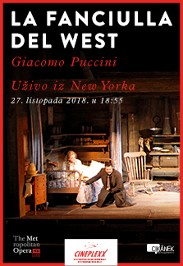 La Fanciulla del West, NY MET, 2018
