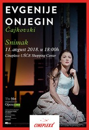 Evgenije Onjegin, MET ENCORE, 2018