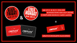 Cineplexx Black Friday & Cyber Monday