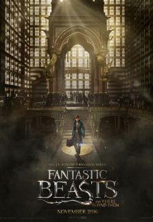 Fantastic Beasts and Where to Find Them FantasticBeastsPlakat_2