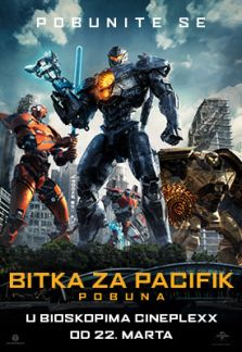 SF film Bitka za Pacifik - Pobuna
